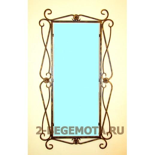 Кованое зеркало №14