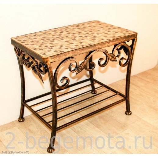 Столик с мозаикой №72