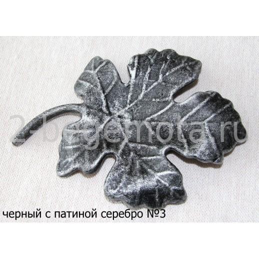 Консоль кованая напольная №9