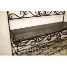 Банкетка кованая Восток №84 с деревянным сиденьем