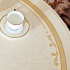 Стол обеденный круглый Флориана беж
