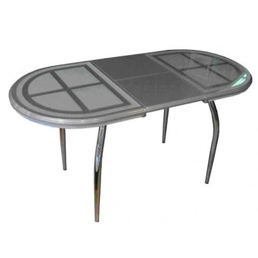 """Кухонный стол из стекла """"Сицилия"""""""