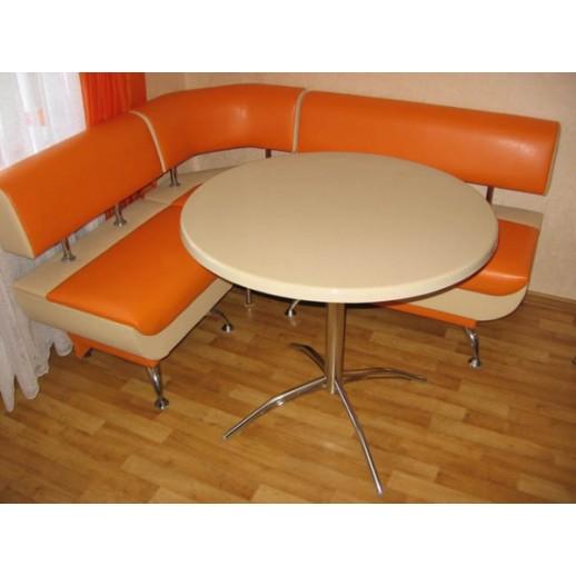 Кухонный стол из искусственного камня Москва-2 бежевый