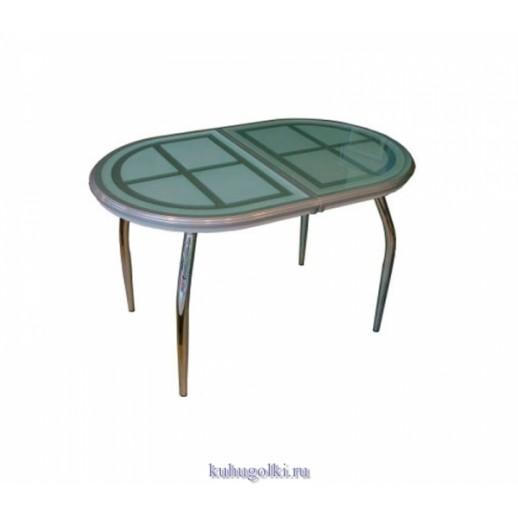 Кухонный стол Сицилия темно-зеленый
