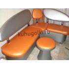 Кухонный уголок Колибри оранжевый