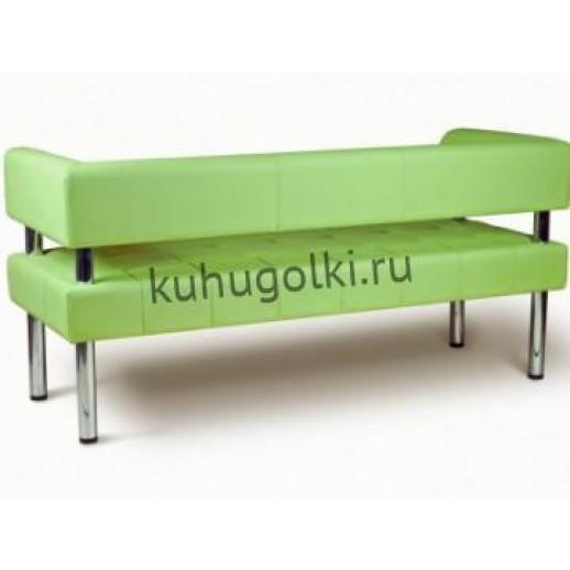 Офисный диван Оскар зеленый