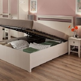 Кровати с подъемным механизмом от производителей