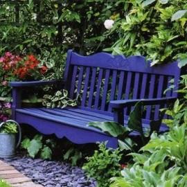Скамейки и кресла садовые