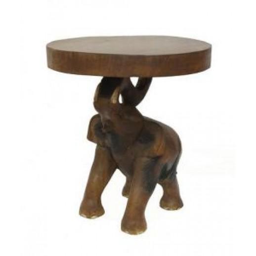 Cтолик из дерева круглый арт.20-62-750 ЭТНО