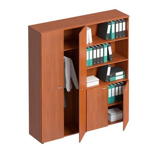 Шкаф комбинированный (4-секционный) испанский орех