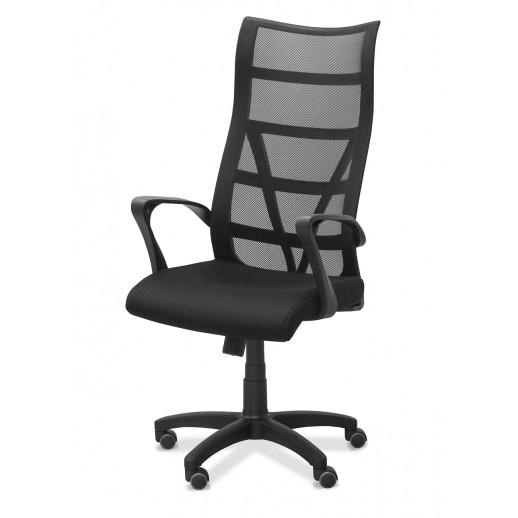 Кресло для персонала Топ ткань TW / красная