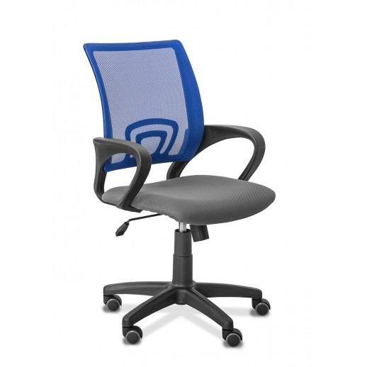 Офисное кресло Galaxy сетка/ткань TW / серая/черная