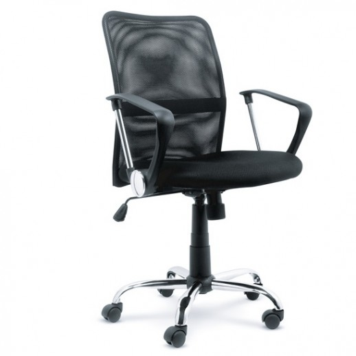 Кресло Директ LB сетка / черная