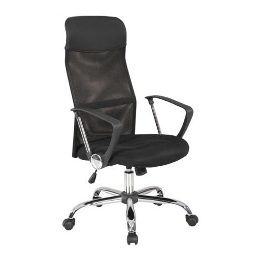 Кресло Директ H сетка/ткань TW / черная/черная
