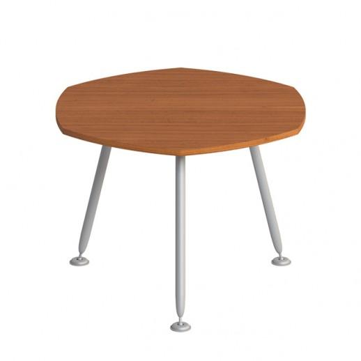 Стол для переговоров круглый (на металлокаркасе МА) испанский орех