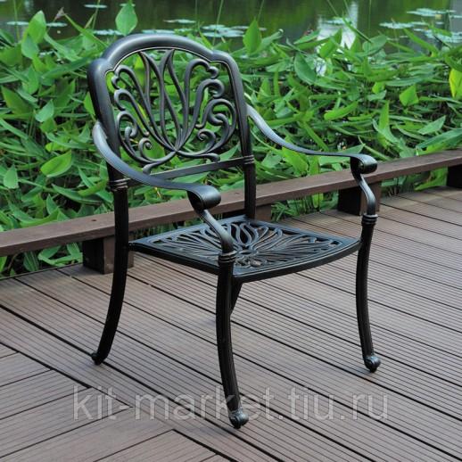 Комплект литой мебели из алюминия Geneva 2