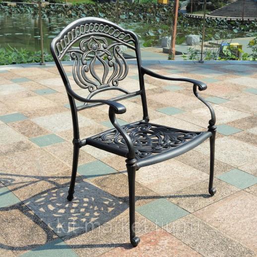 Комплект мебели Fuji из литого алюминия для сада