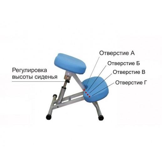 Коленный стул с газ-лифтом Smartstool KM01L взрослый