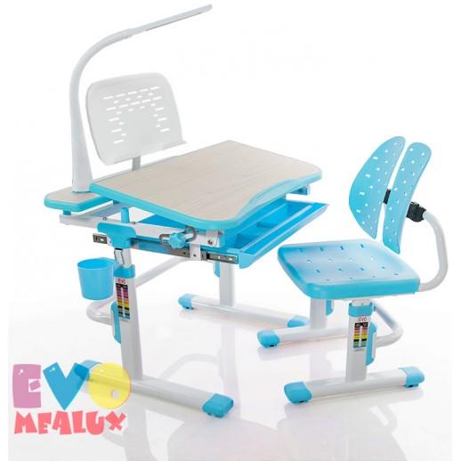 Комплект Mealux EVO-05 L: парта + стульчик + лампа