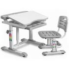 Комплект Mealux BD-09 XL: парта + стульчик + подставка для книг