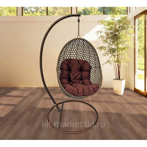 Плетеное кресло подвесное Fresco 108
