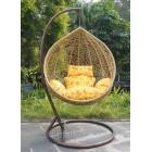 Подвесное кресло кокон Бежевый