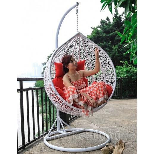 Кресло подвесное плетеное Fresco 28