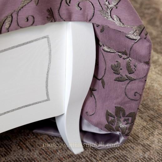 Виола белая - Кровать без ножной спинки
