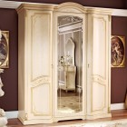 Флориана беж Шкаф трехдверный c зеркалом