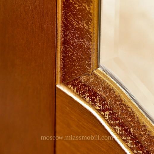 Луиджи орех Шкаф пятидверный с зеркалами