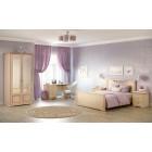 Джоконда крем - Шкаф 2-дверный для платья и белья