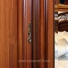Джоконда орех Шкаф 4-х дверный для платья и белья