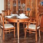 Стол обеденный круглый Венеция орех