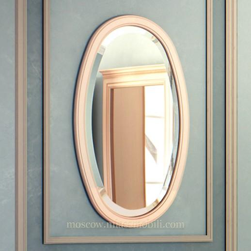 Зеркало навесное овальное к столу консольному
