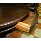 Стол овальный в стиле прованс с ящиками