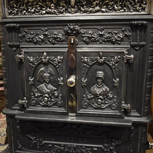 Антикварная печь De Dietrich & C.Niederbronn