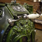 Антикварная печь Deville&Co Charleville