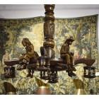 Люстра в бретонском стиле на 5 ламп