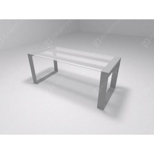 BRIX - Стол руководителя, столешница стекло