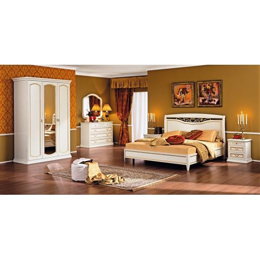 Белая мебель для спальни Луиджи