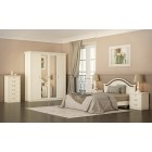 Мебель для спальни Екатерина крем