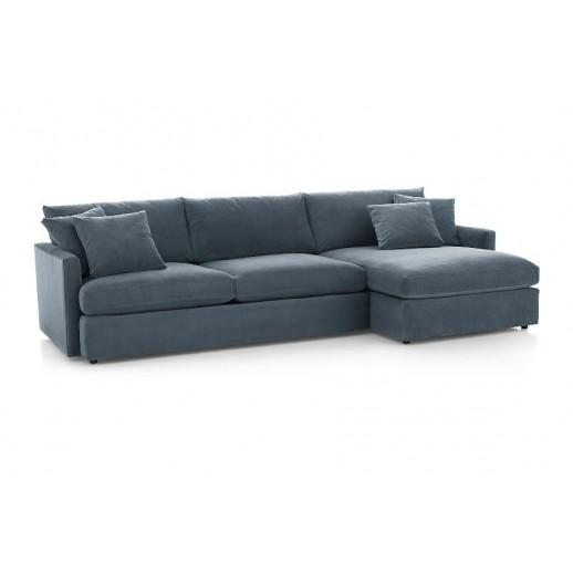 Угловой диван Стелф с оттоманкой