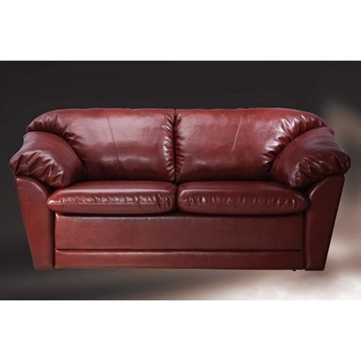 Кожаный диван Слип