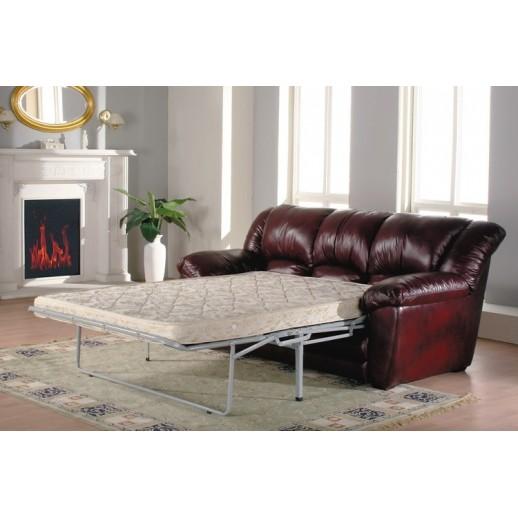 Кожаный диван Оберон