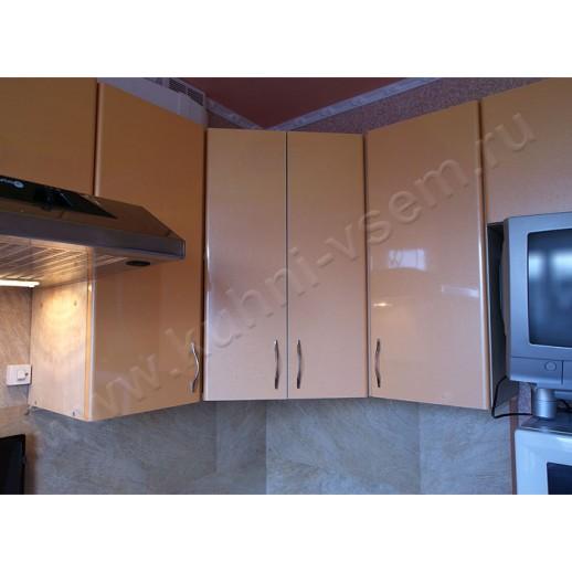 Кухня из пластика желтого цвета