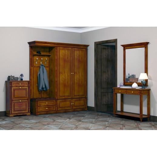 Мебель для прихожей Классика (темная)