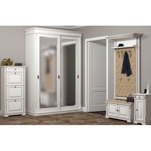 Мебель для прихожей Классика (белая)