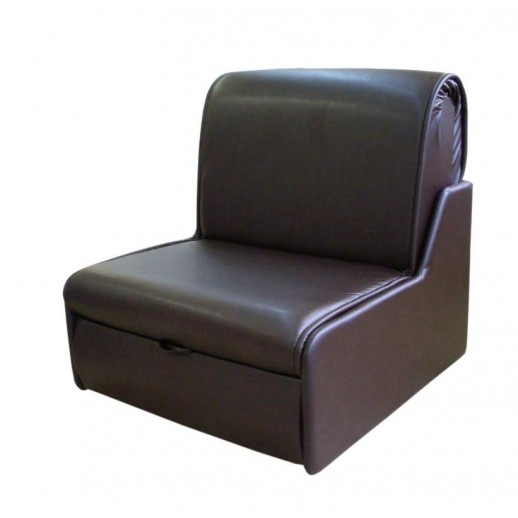 Кожаное кресло кровать Виктория-1