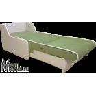 Кресло кровать велюр Аллюр + кожзам