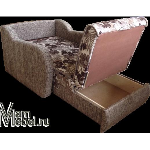 Кресло кровать шенилл Цветы